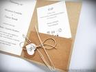 Zaproszenie z ekologicznego papieru z kieszonką i wkładką RSVP (8)