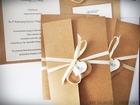 Zaproszenie z ekologicznego papieru z kieszonką i wkładką RSVP (11)
