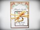 Zaproszenia z lustrzanym papierem i motywem kwiatowym (19)