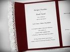 Kopertowe zaproszenie z koronka i serduszkami (5)