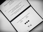Kopertowe zaproszenie z koronka i serduszkami (3)