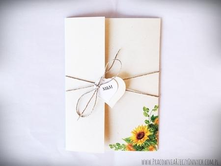 Boho zaproszenia kwiatowe (7)
