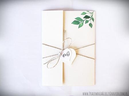 Boho zaproszenia kwiatowe (2)
