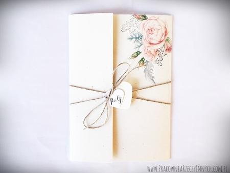 Boho zaproszenia kwiatowe (12)