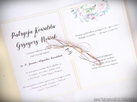 Boho zaproszenia kwiatowe (15)