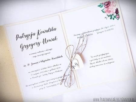 Boho zaproszenia kwiatowe (17)