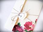 Boho zaproszenia kwiatowe (14)