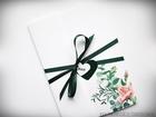 Kwiatowe zaproszenia w formie folderu (12)