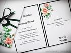 Kwiatowe zaproszenia w formie folderu (7)