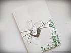 Kwiatowe zaproszenia w formie folderu (9)