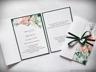 Kwiatowe zaproszenia w formie folderu (41)