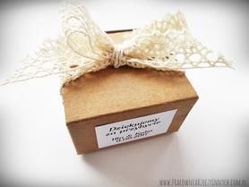 Eko pudełeczko z koronką