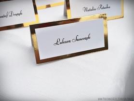 Klasyczne winietki na lustrzanym papierze