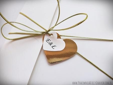 Kopertowe zaproszenia z lustrzanym papierem (1)