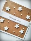 Kartki z gwiazdkami i śnieżynkami (2)