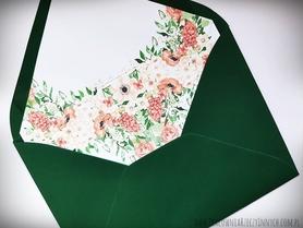 Koperty kolorowe z wklejką
