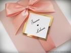 Kolorowe zaproszenie ze złotem lub srebrem i kokardą (1)