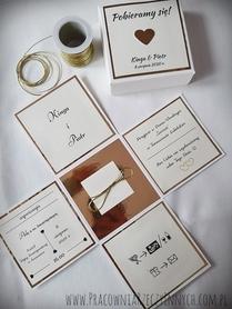 Box - prośba o świadkowanie lub specjalne zaproszenie