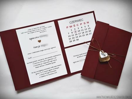 Kopertowe zaproszenia z kalendarzem (18)
