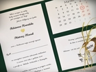 Kopertowe zaproszenia z kalendarzem (3)