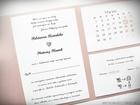 Kopertowe zaproszenia z kalendarzem (2)