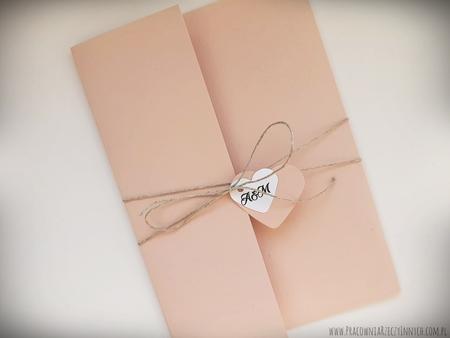 Rustykalne zaproszenia folderowe z kalendarzem (6)