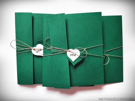 Rustykalne zaproszenia folderowe z kalendarzem (9)