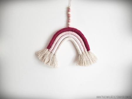 Tęcza ze sznurków (3)