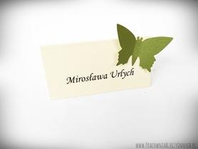 Winietki z motylkami /MOTYL II/